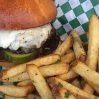 The Cavalier ATX burger
