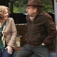Imelda Staunton and Timothy Spall in Finding Your Feet