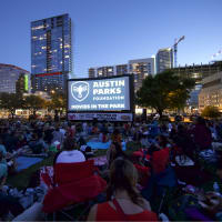 Austin Parks Foundation movies in the park