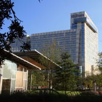Places-Hotels/Spas-Hilton Americas-Houston-building-1