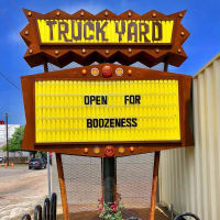 Truck Yard Houston sign