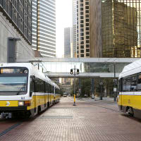 Dart train, rail