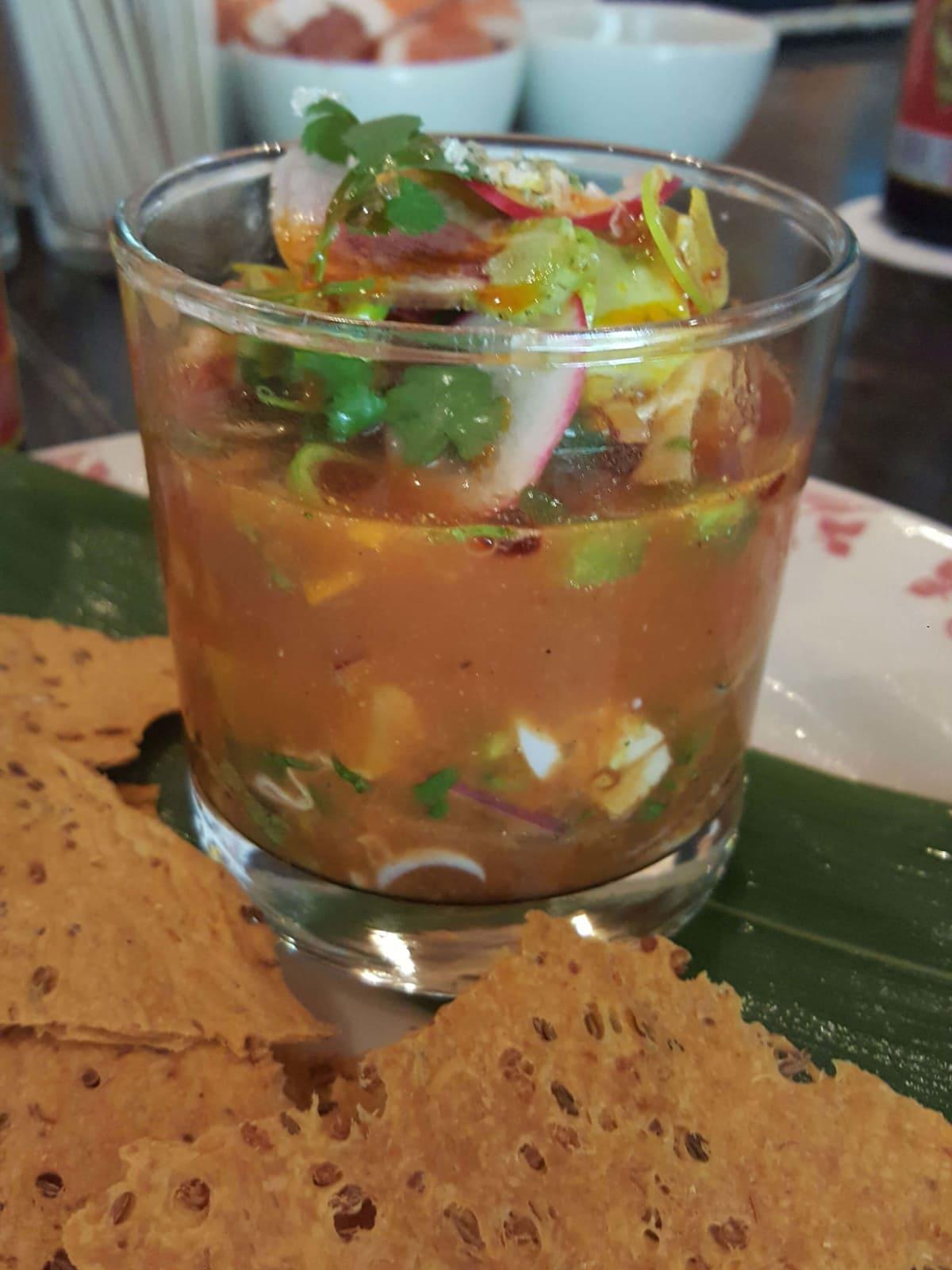 La Condesa seafood ceviche