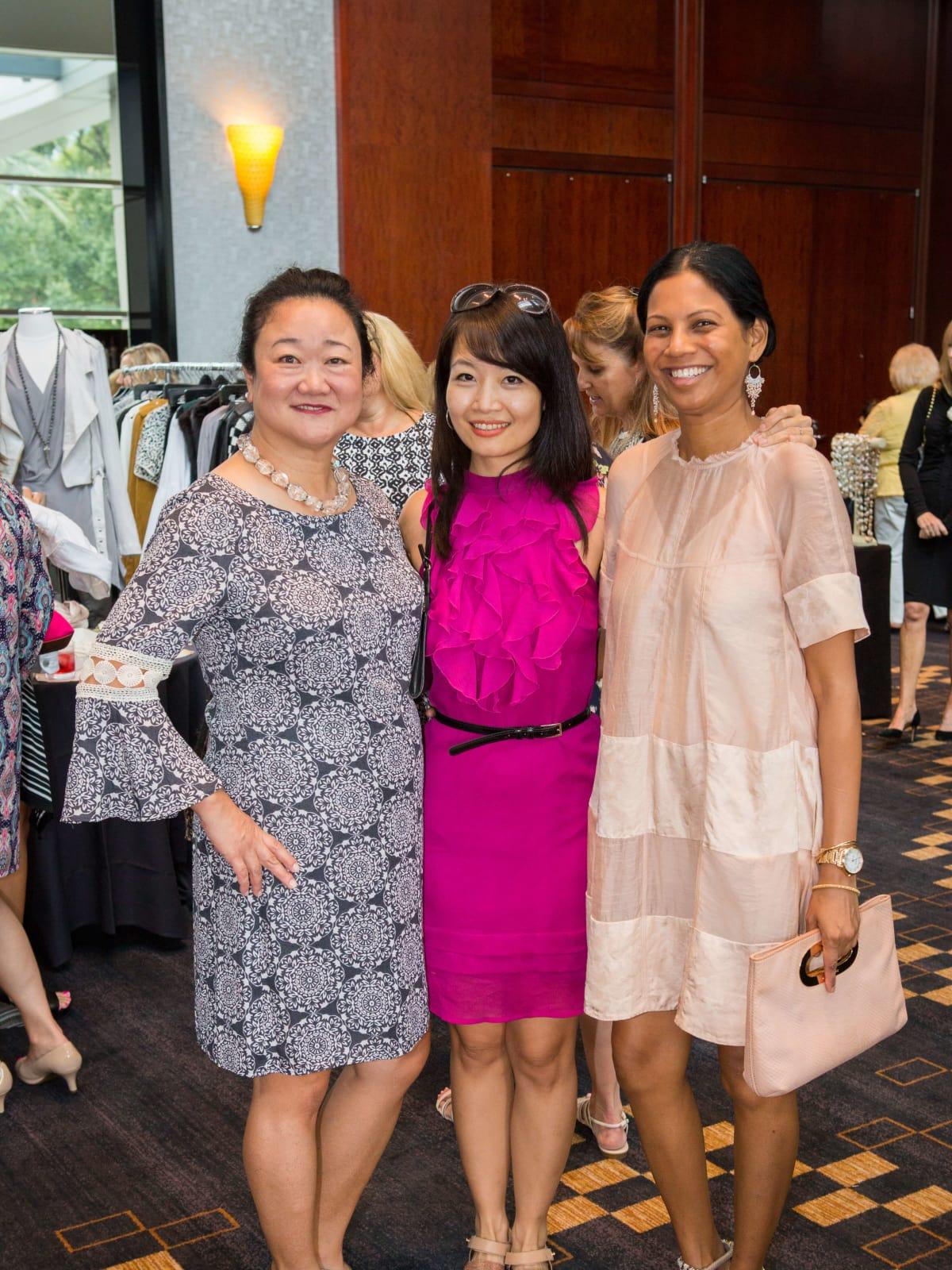 Women's Hospital Labor Day lunch, 8/16,  Wendy Chung, Anne Chou, Avril Nunes