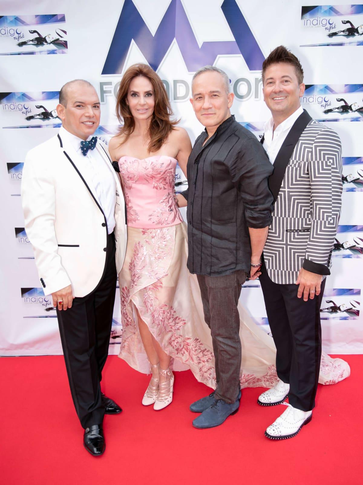 Indigo Nights. 8/31 Alex Martinez-Arpin, Carmen Maria Mantiel, Cesar Galindo, Tommy O'Neill