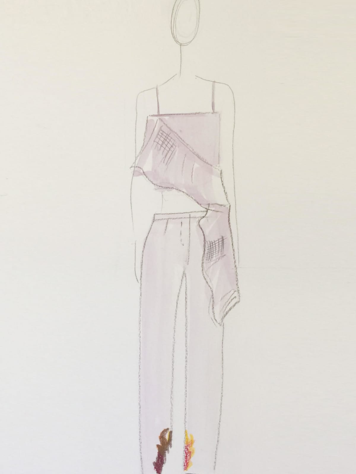 Collina Strada designer inspiration sketch spring 2017
