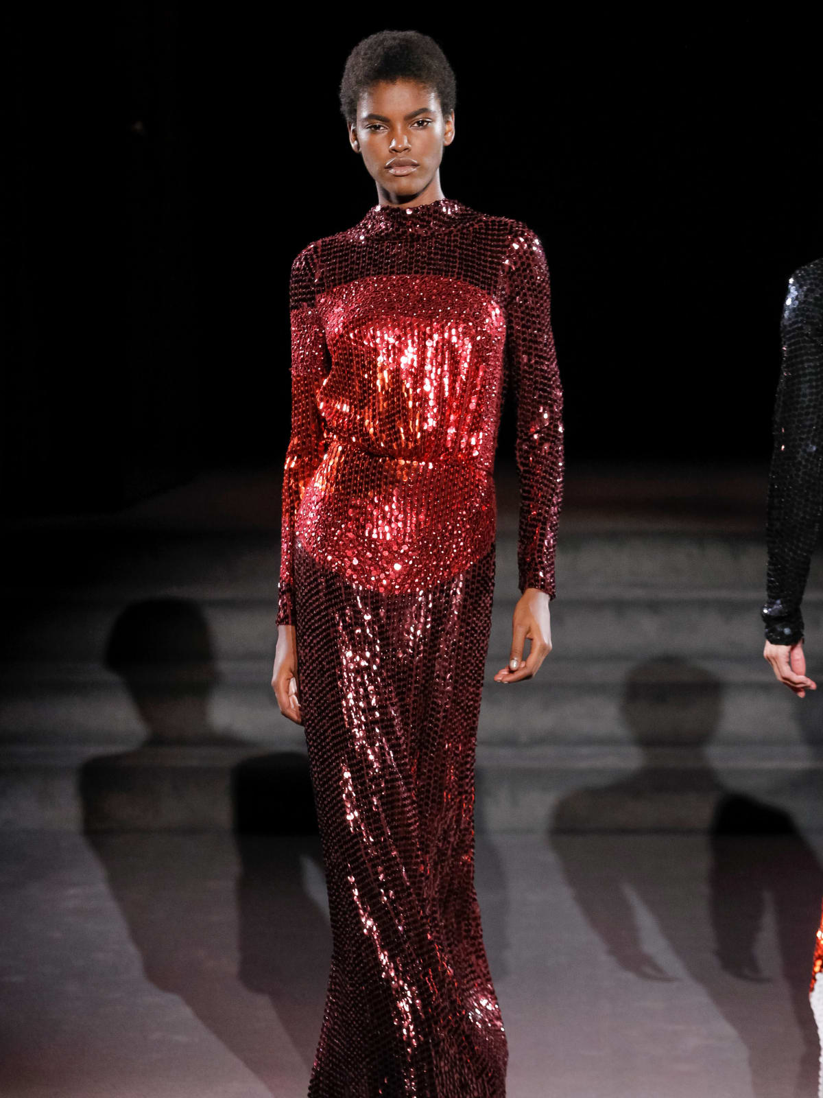 Tom Ford look 52 evening gown