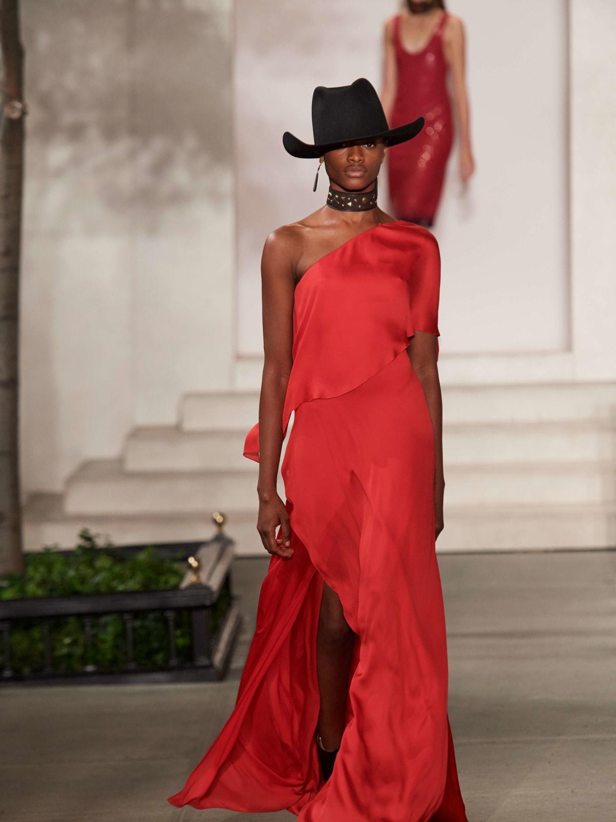 Ralph Lauren gown look 35
