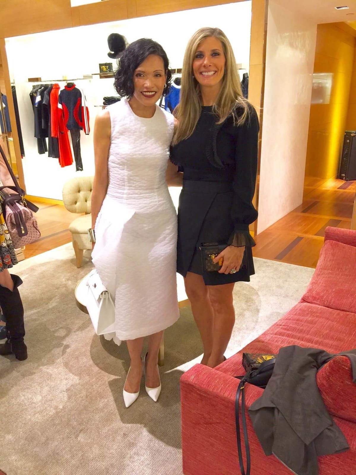 Vogue, Louis Vuitton lunch, 9/26 Duyen Nguyen, Gina Bhatia