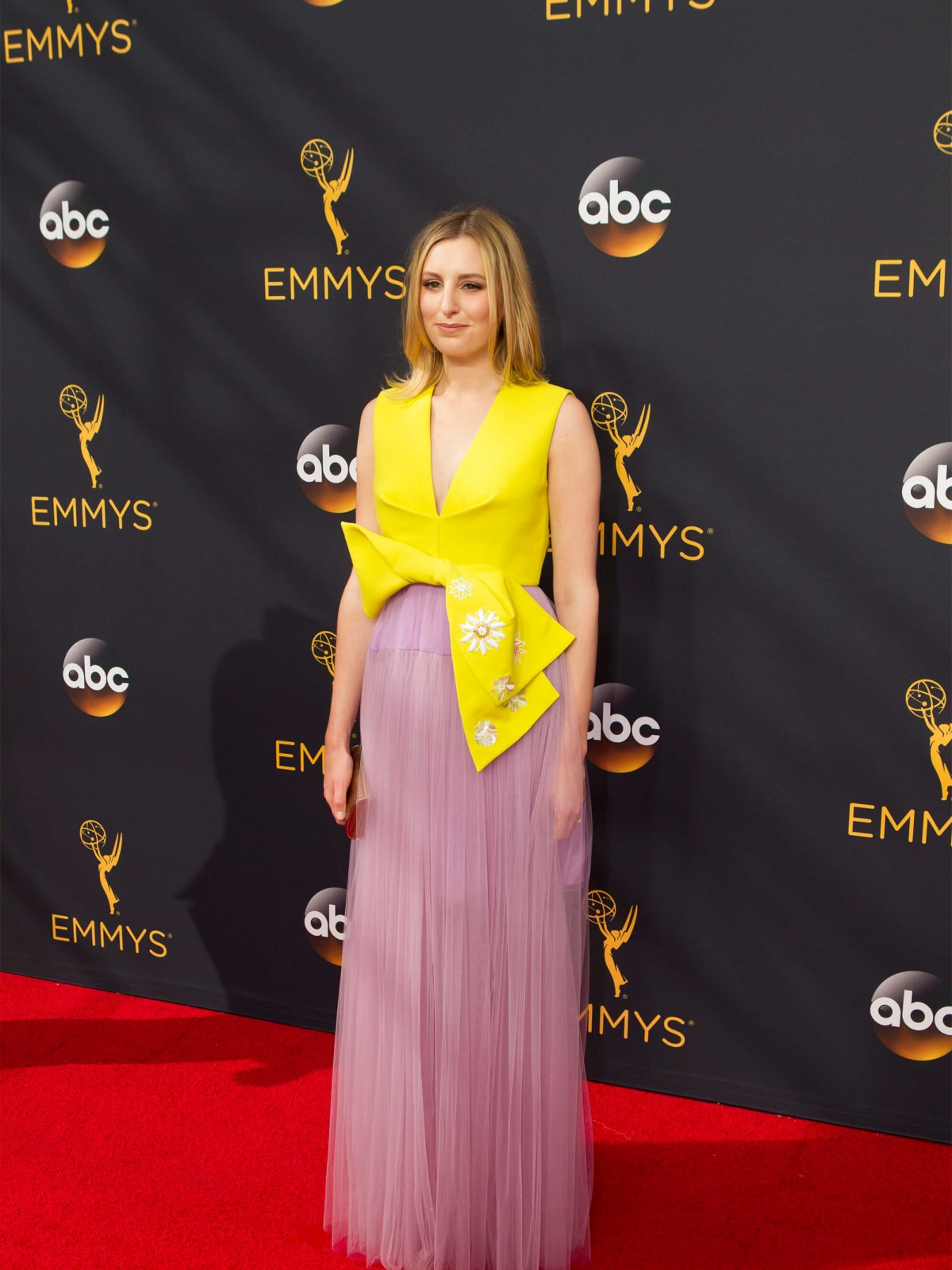 Laura Carmichael gown at Emmy Awards