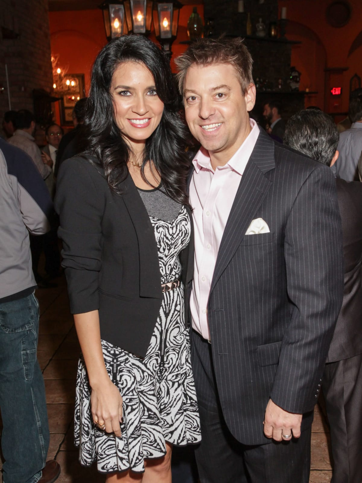 News, Shelby, Mayor's Hispanic Holiday Party, December 2014, Maya Fastoff, Hank Fasthoff