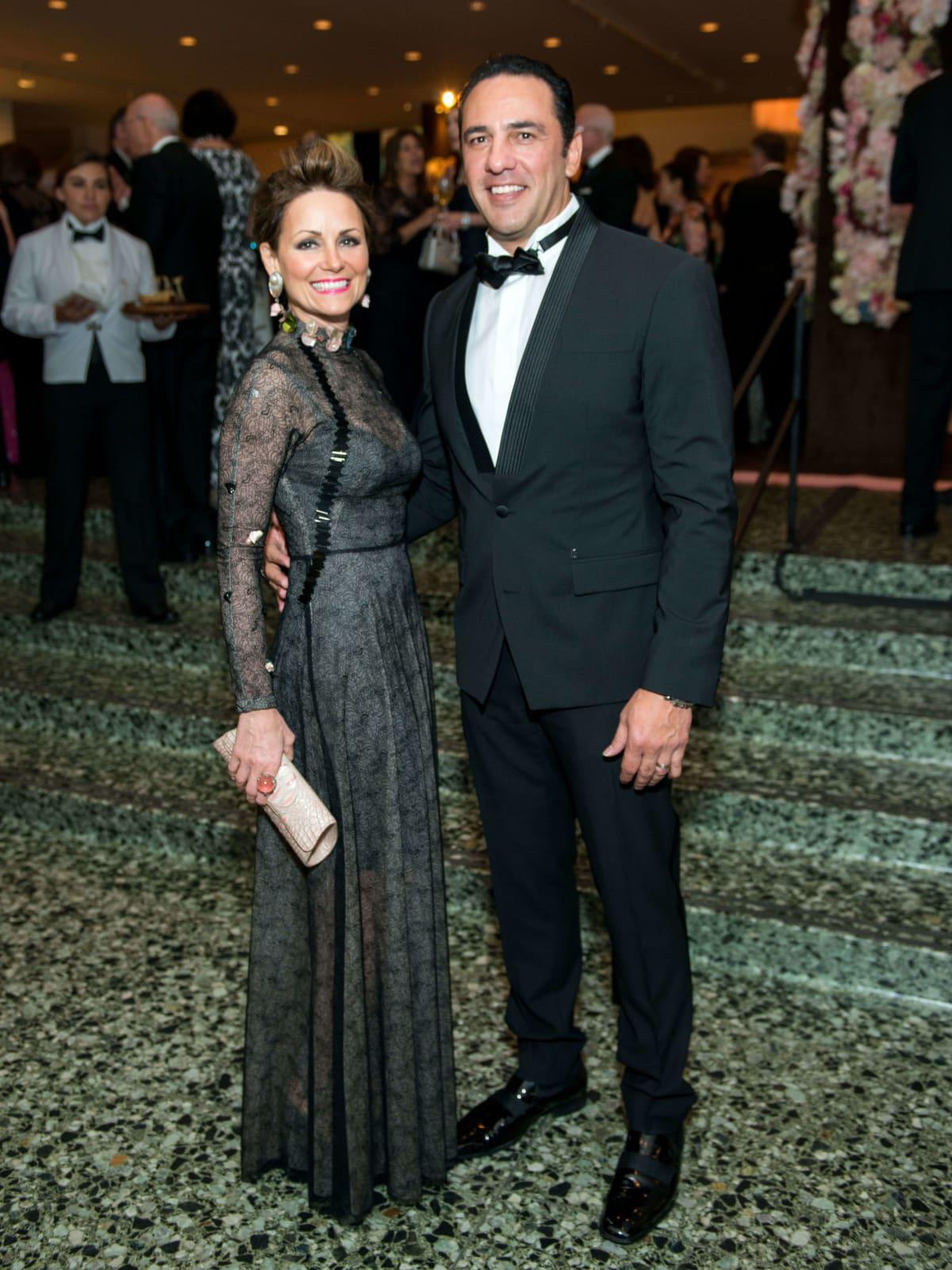 Lucinda Loya, Javier Loya at Museum of Fine Arts Grand Gala