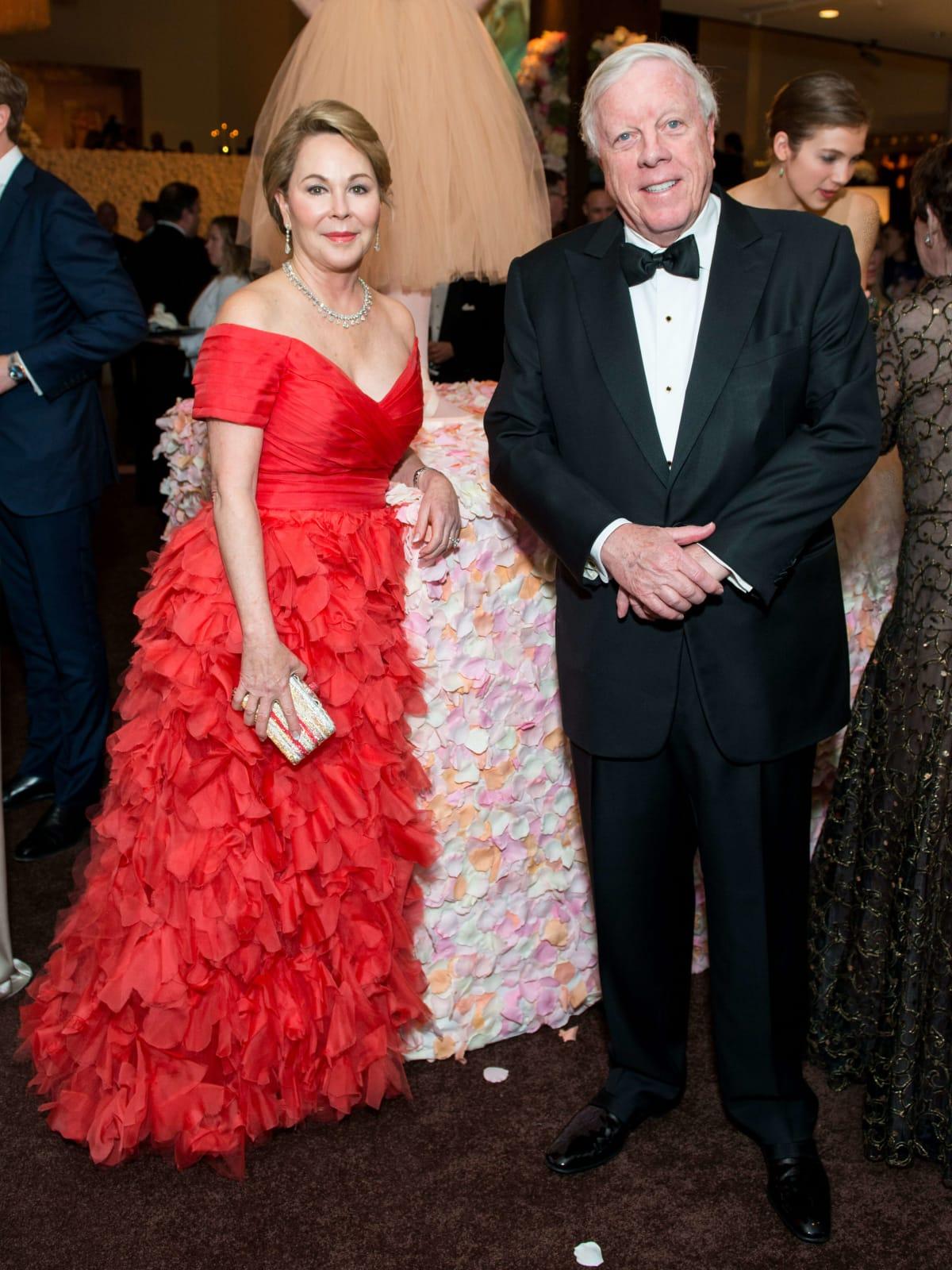 Rich Kinder, Nancy Kinder at Museum of Fine Arts Grand Gala