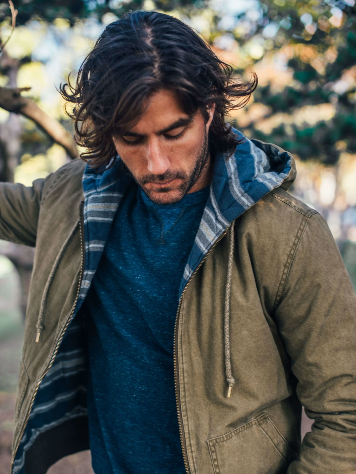 Stag Provisions and Faherty jacket