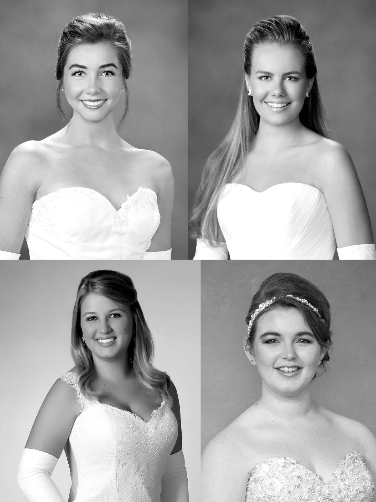 Collage of Houstonians at International Debutante Ball