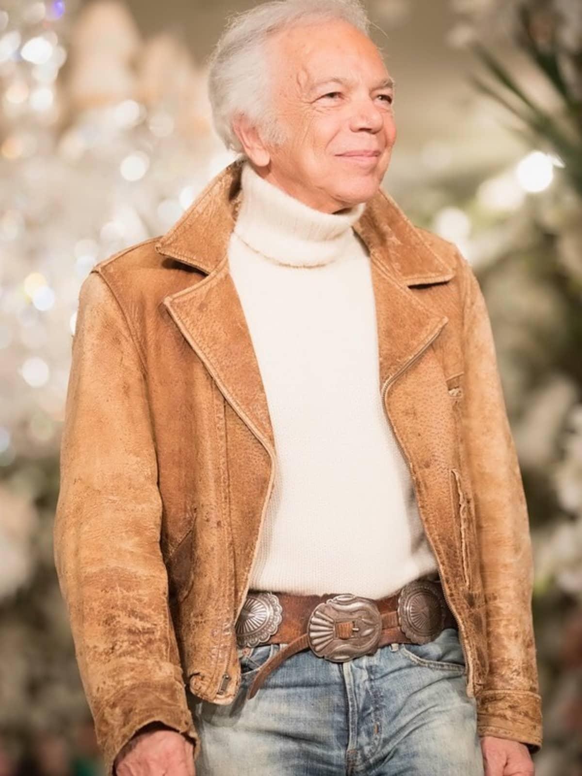 Ralph Lauren takes runway bow