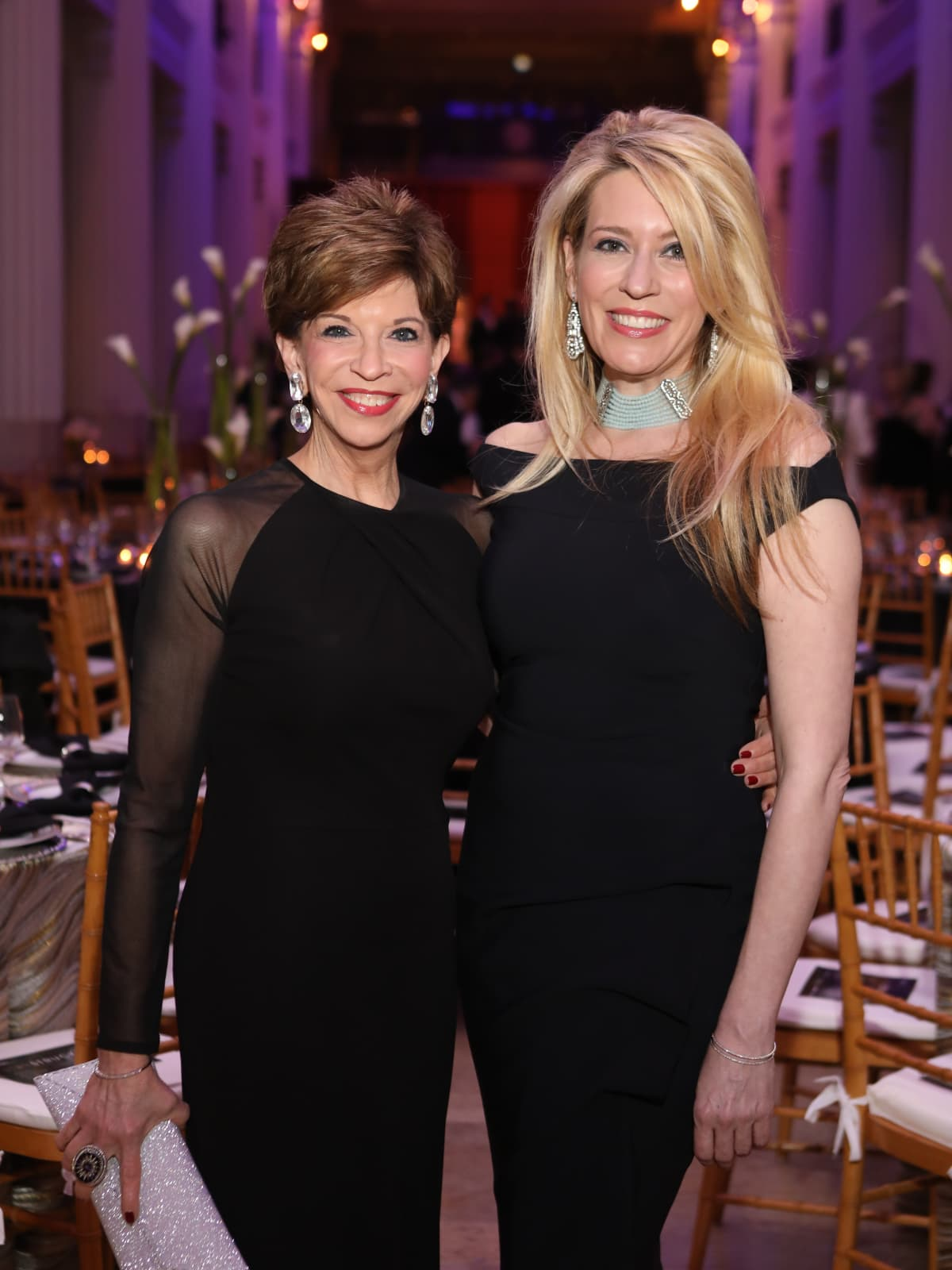 Vicki Rizzo and Mauri Oliver at Stages Gala 2017