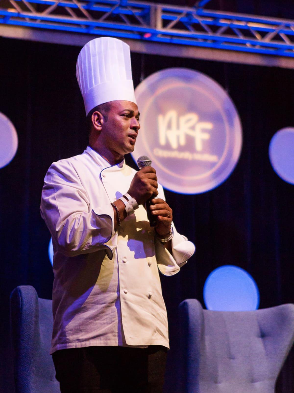 Andy Roddick Foundation Opportunity Matters Luncheon 2017 Chef John De Souza