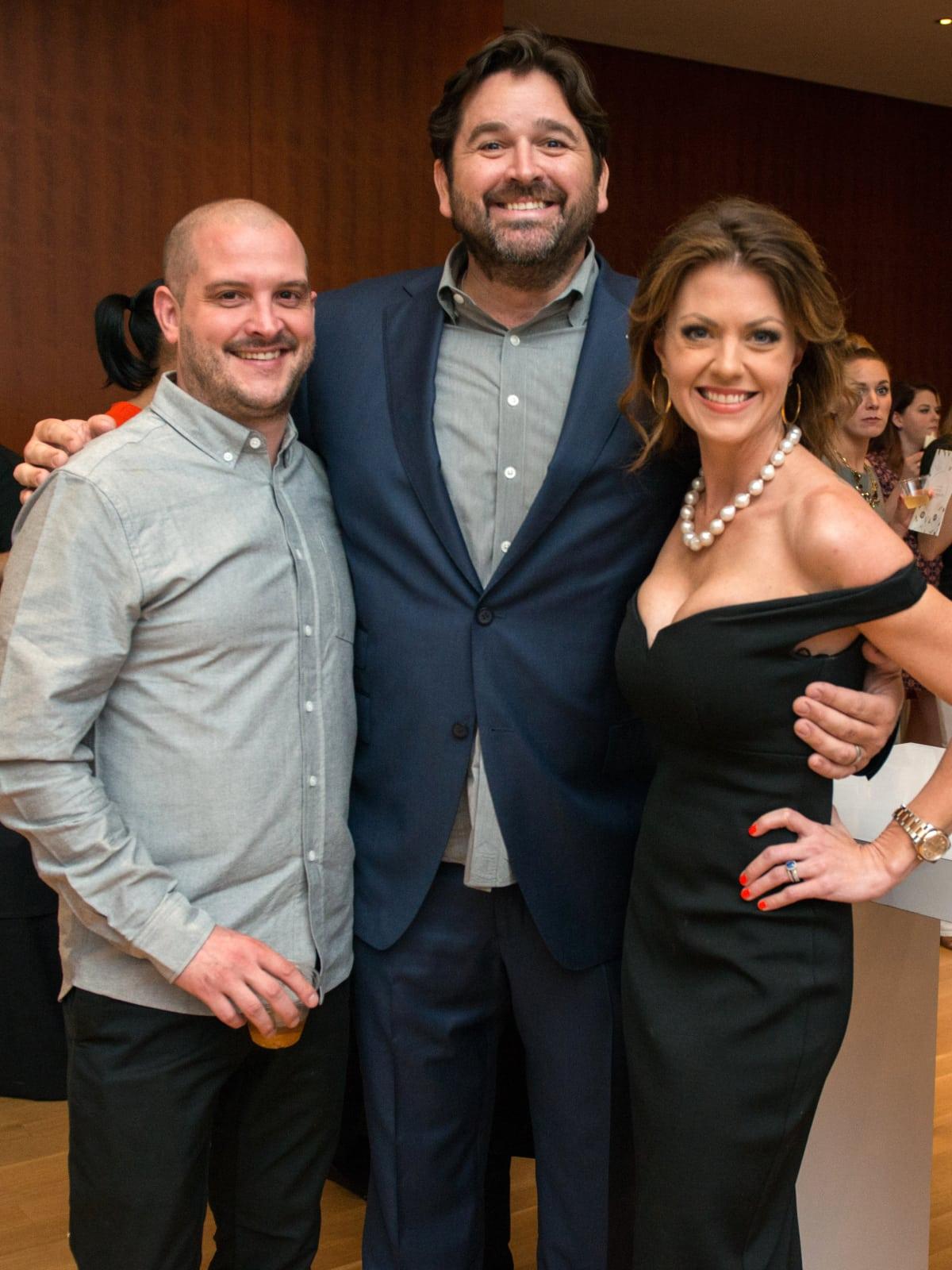 Houston, CultureMap Tastemakers, April 2017, Ryan Lachaine, Bryan Caswell, Jennifer Caswell