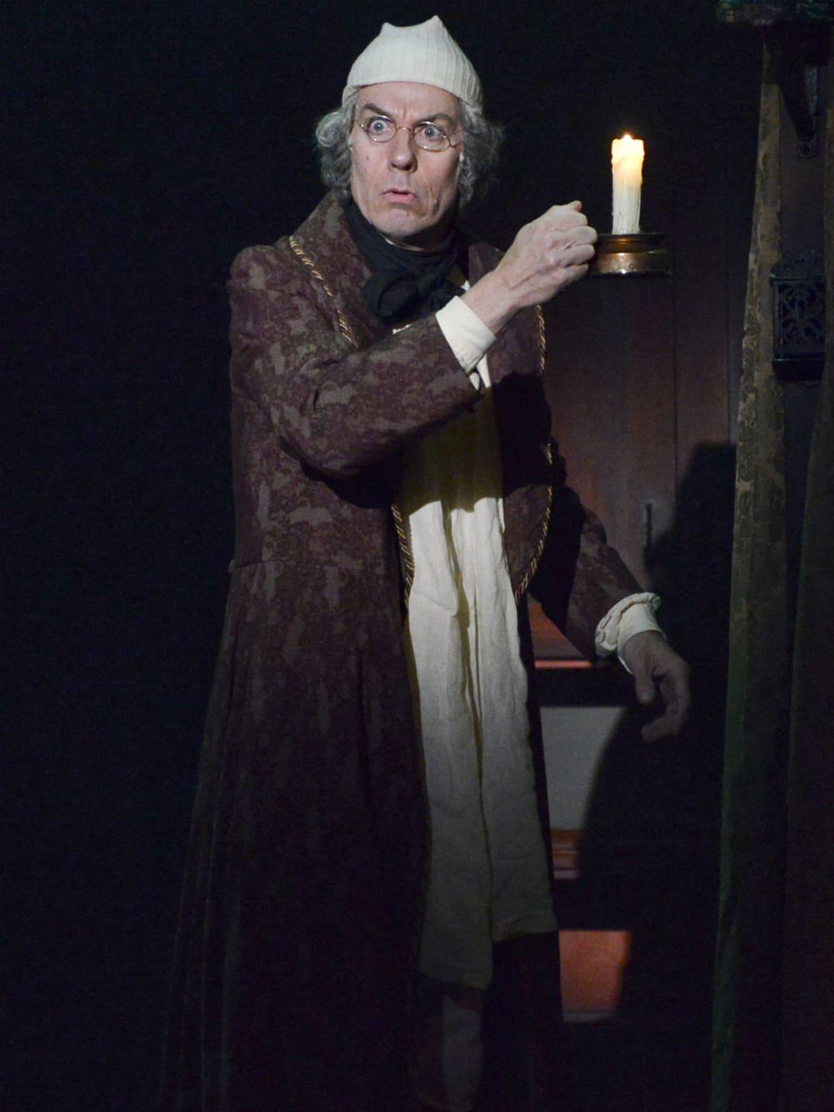 Chamblee Ferguson in Dallas Theater Center's A Christmas Carol