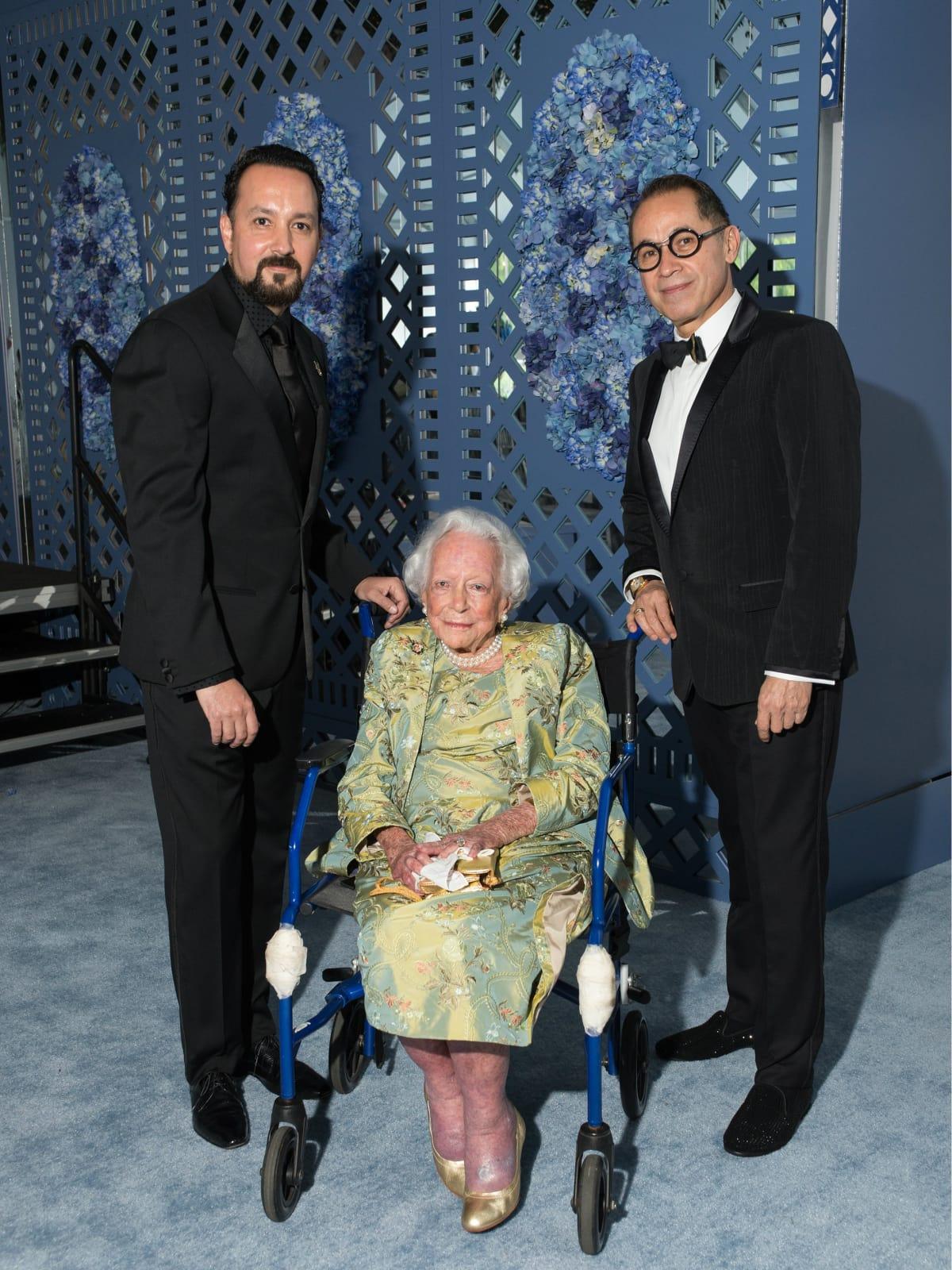 Carlos Gonzalez-Jaime, Margaret McDermott, Agustín Arteaga