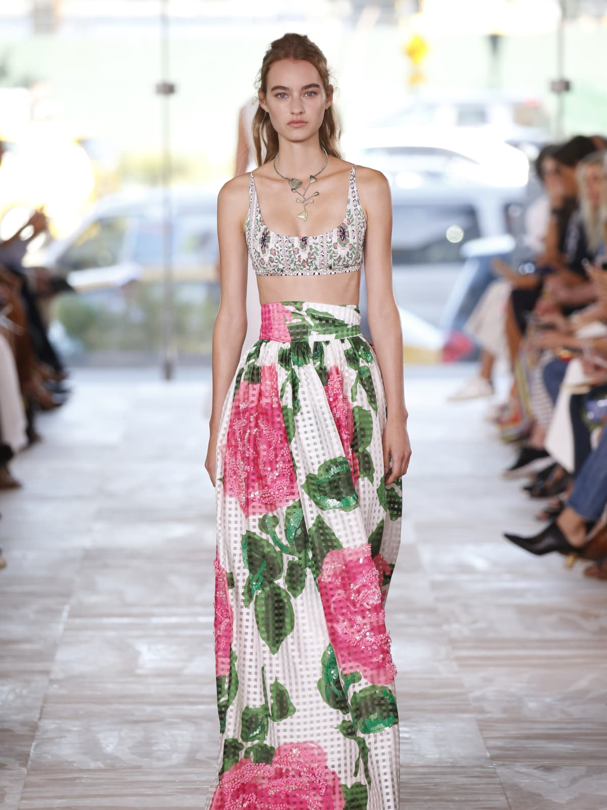 Tory Burch spring 2017 collection look 10