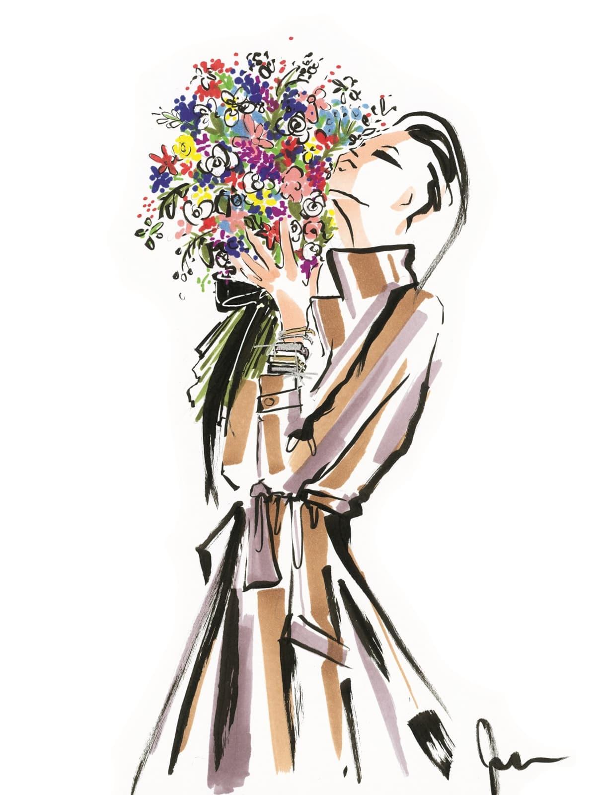Monica Vinader designer inspiration sketch spring 2017