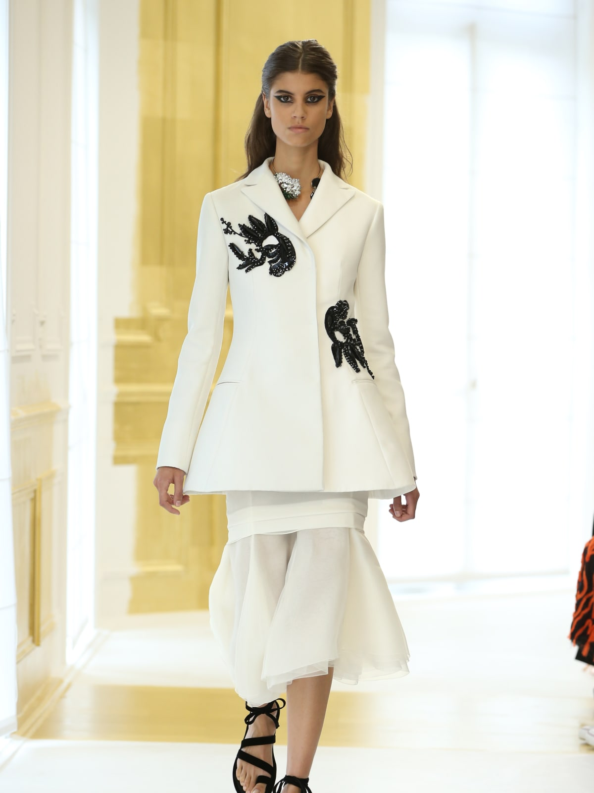 Dior haute couture runway show Paris finale look 12