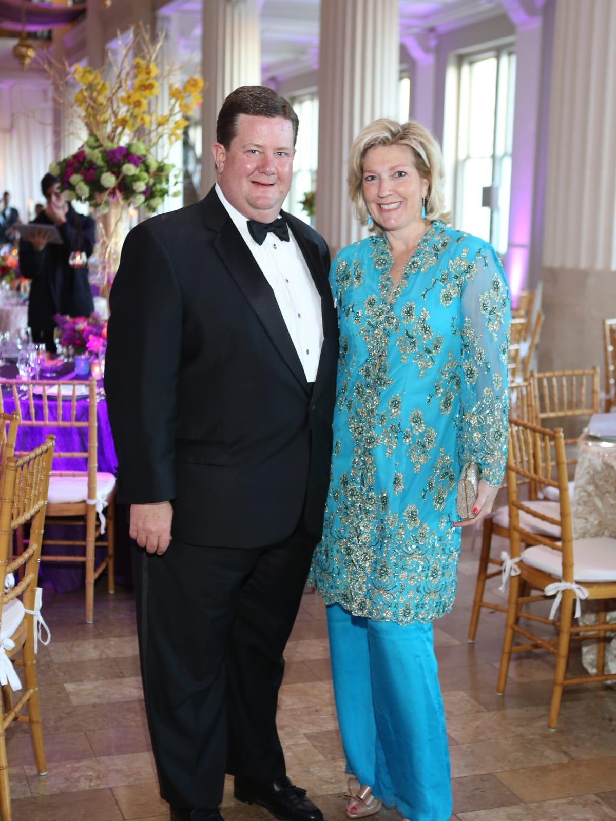 SPA gala, April 2016, Jeff Smith, Kathryn Smith