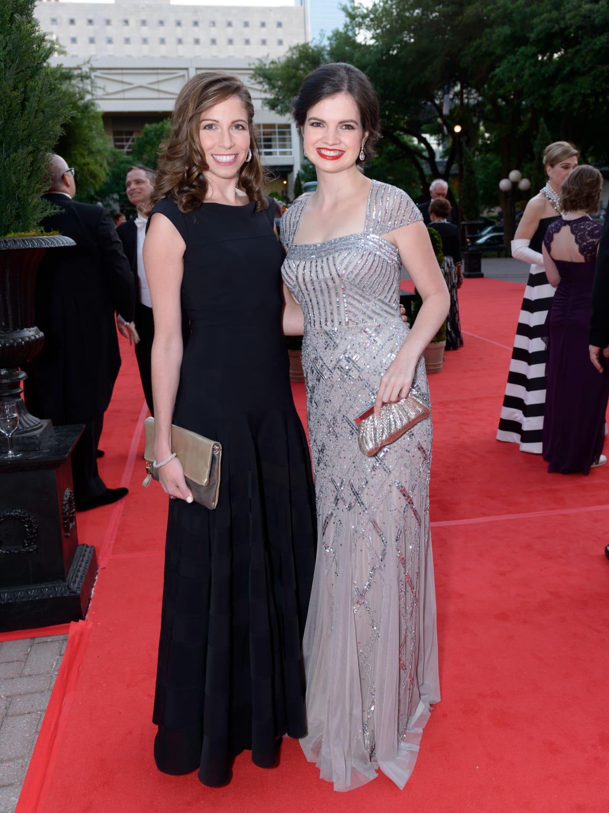 Houston Grand Opera Ball, April 2016 Allison Savire, Sarah Dunagin