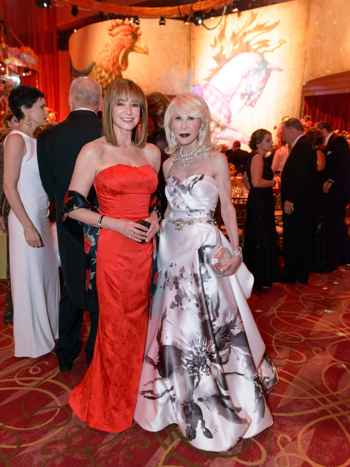 Houston Grand Opera Ball, April 2016, Janet Gurwitch, Diane Lokey Farb