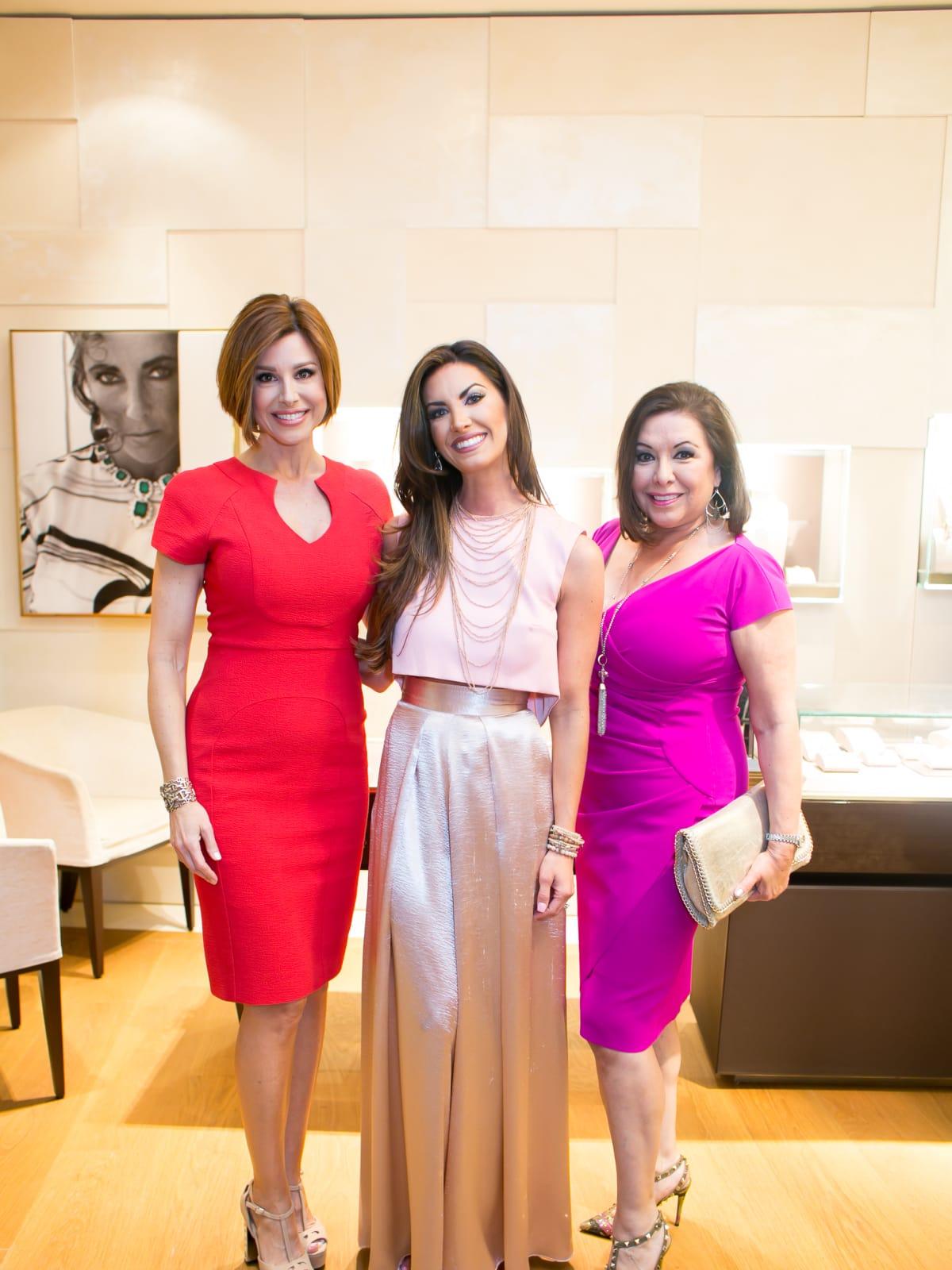 International Mothers' Day at Bulgari, March 2016, Dominique Sachse, Nicole O'Brien Lassiter, Debbie Festari