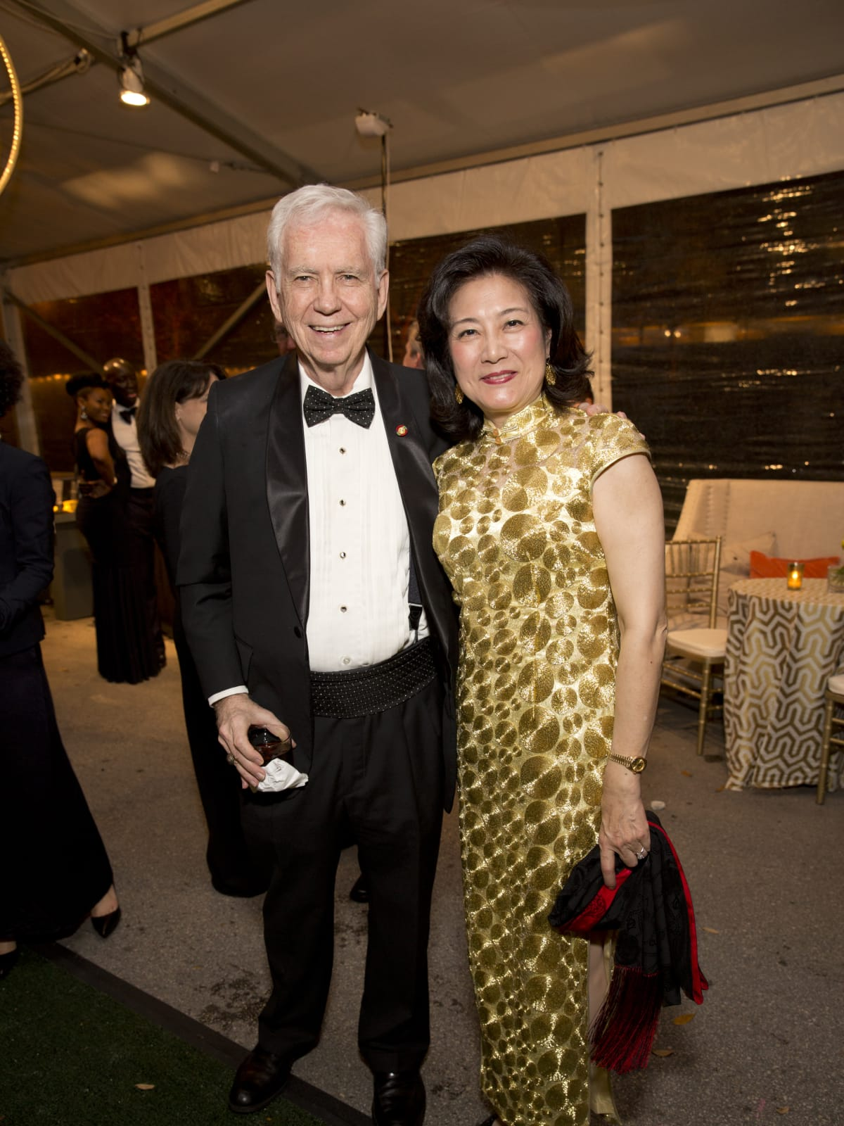 Asia Society Tiger Ball, March 2016, Charles Foster, Lily Chen Foster