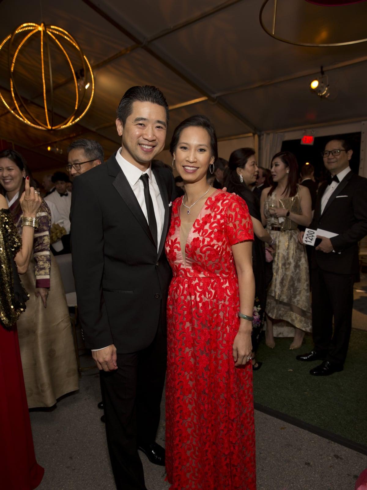 Asia Society Tiger Ball, March 2016, Kenneth Tsai, Janae Tsai