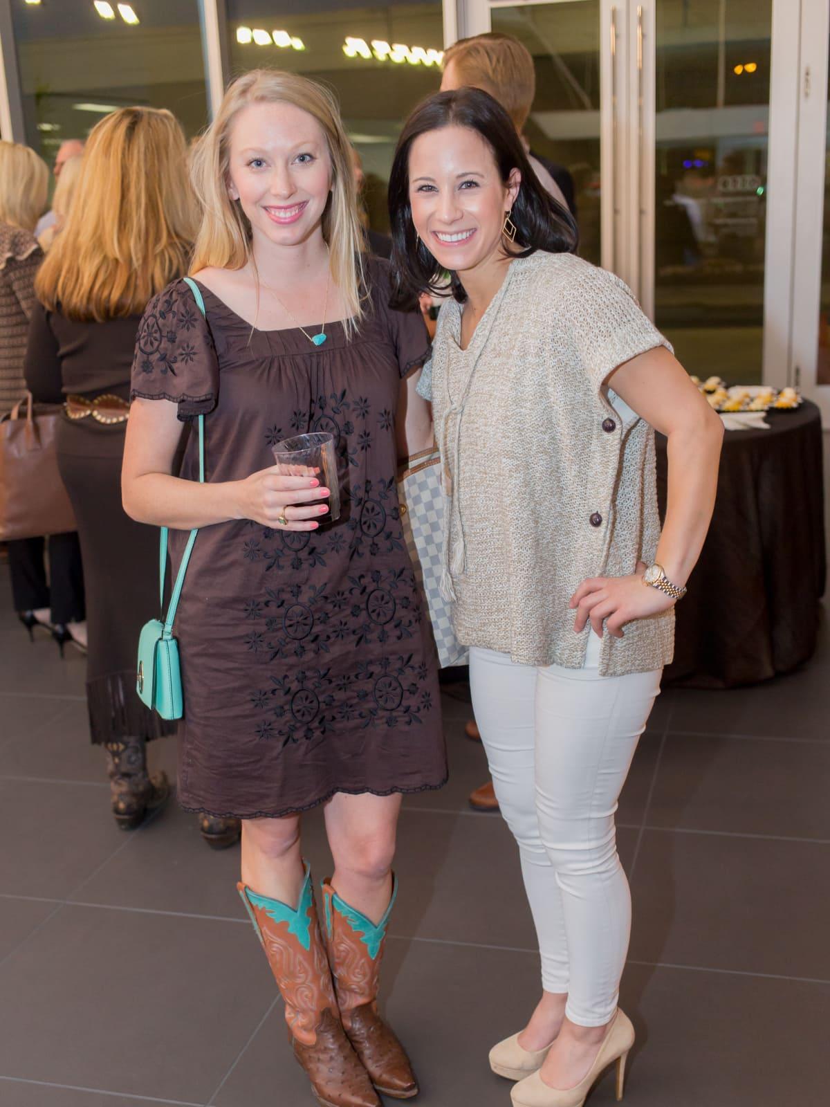 Cattle Baron's Fashion Show, March 2016,  Kate Raffaele, Brooke Bender