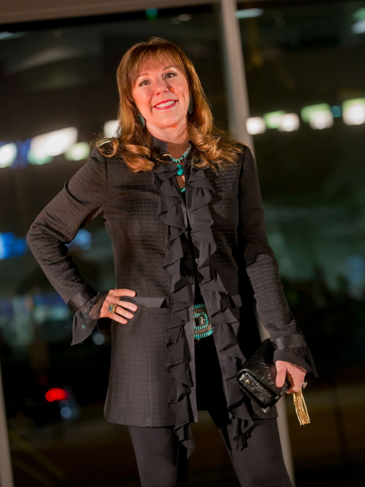 Cattle Baron's Fashion Show, March 2016,  Elizabeth Stein