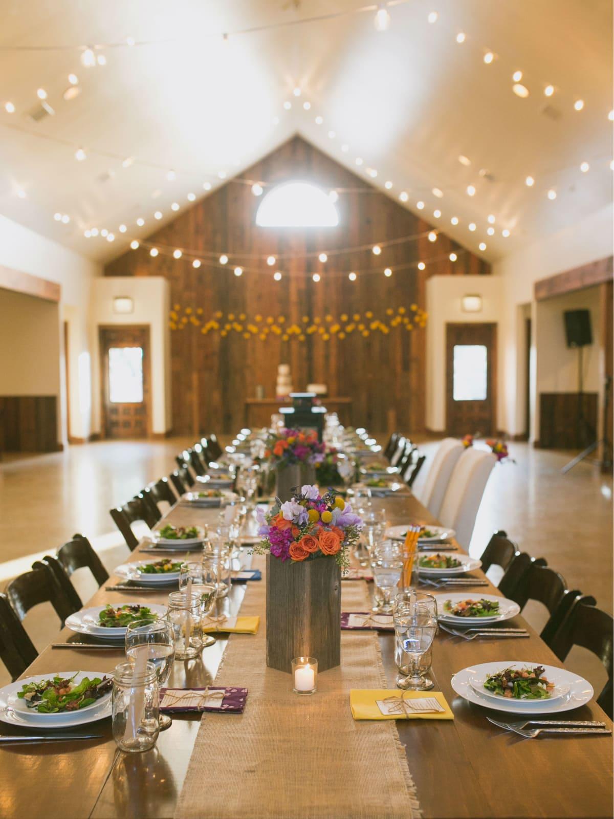 Heritage House wedding dinner
