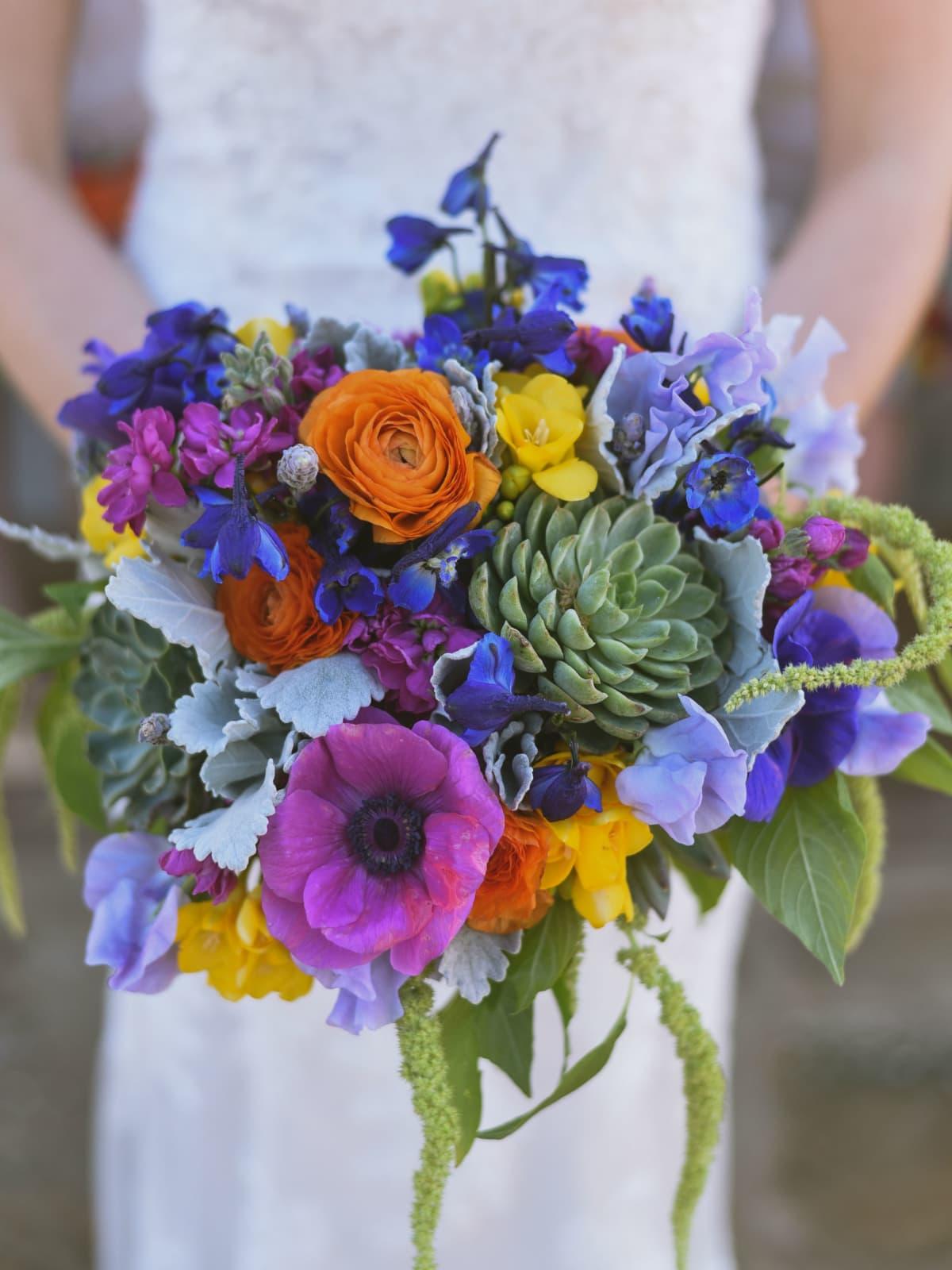 Heritage House wedding bouquet