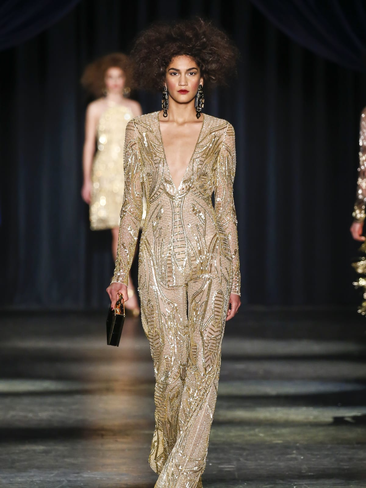 Naeem Khan fall 2016 collection Look 42