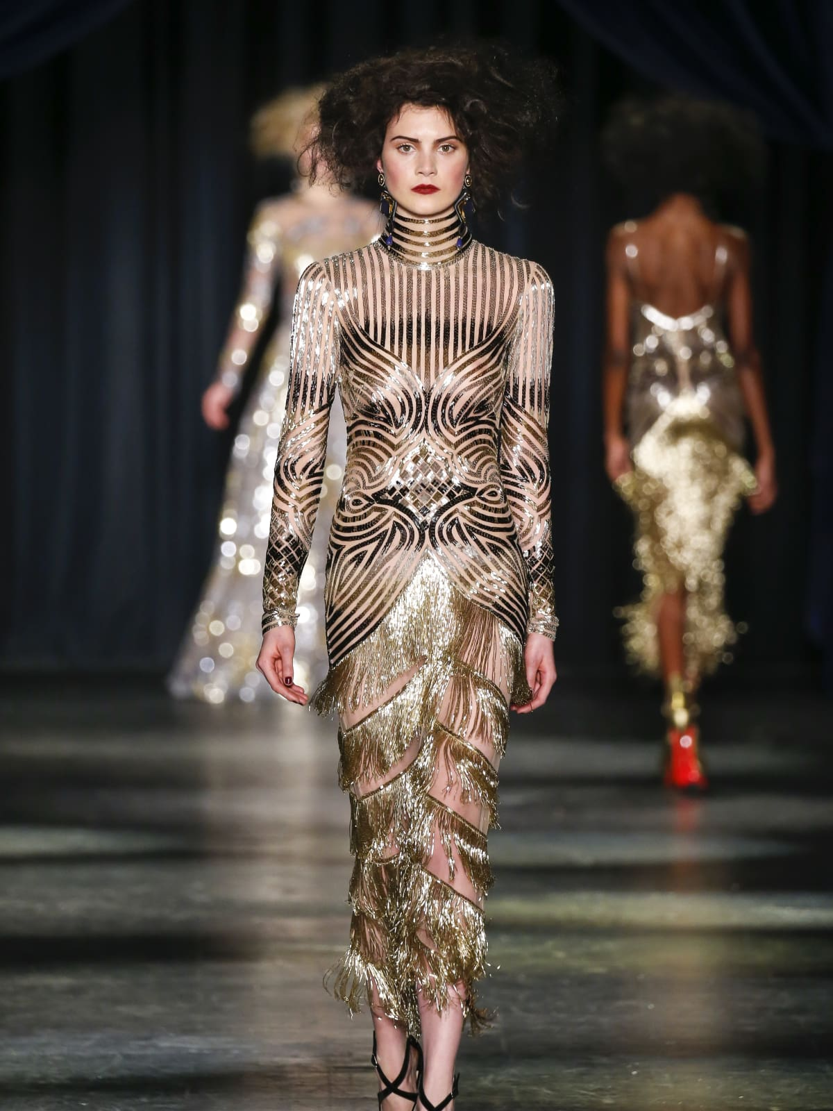 Naeem Khan fall 2016 collection Look 40