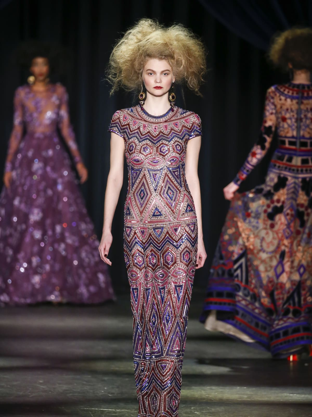 Naeem Khan fall 2016 collection Look 4
