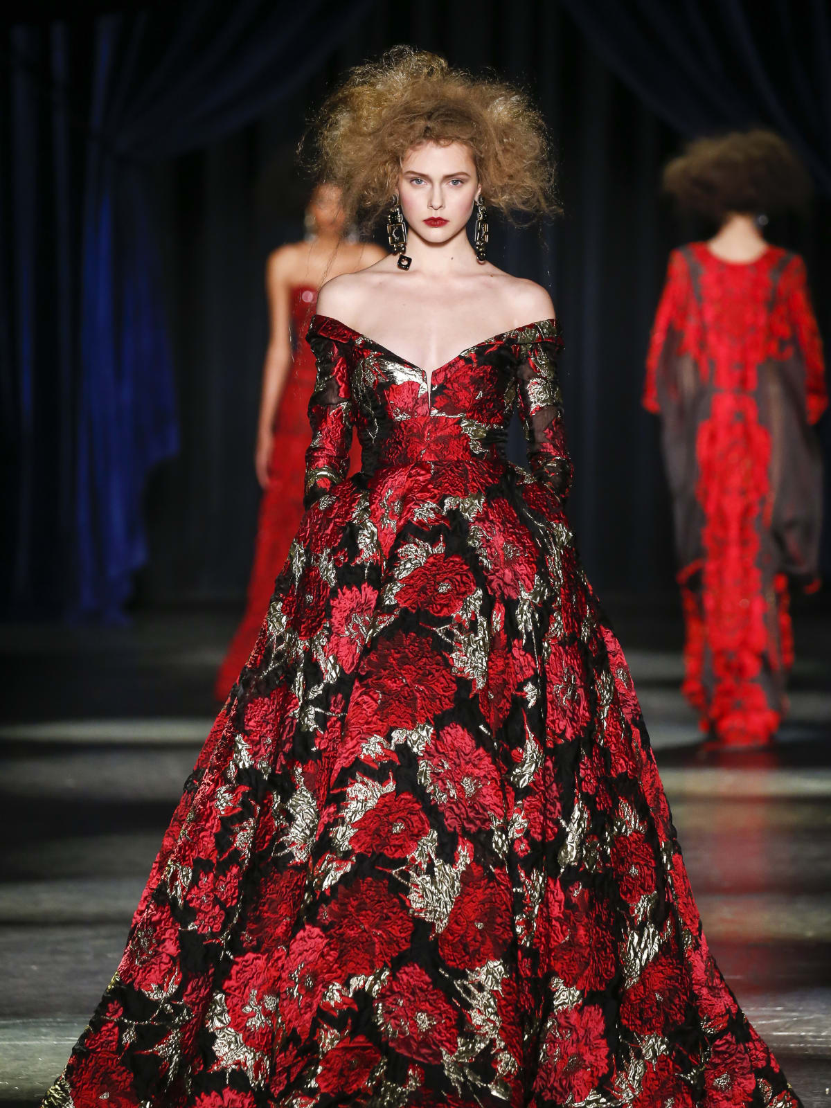 Naeem Khan fall 2016 collection Look 29