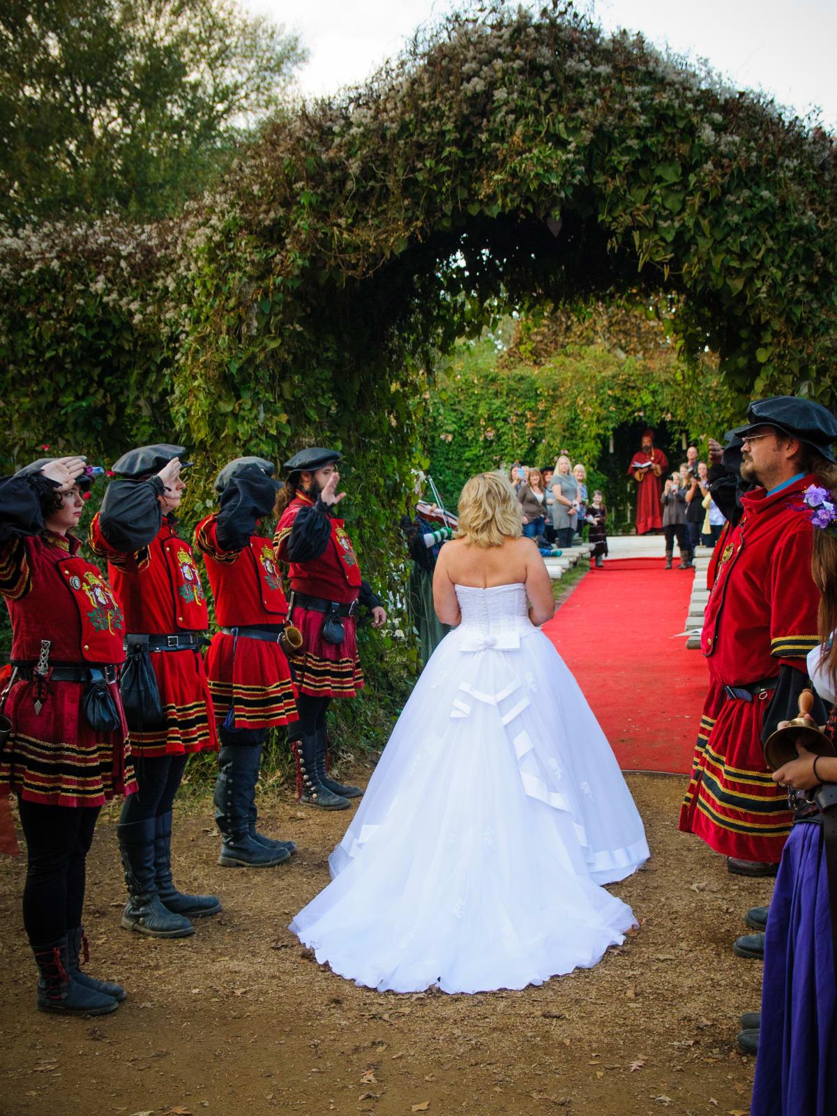 Renaissance Festival Weddings, Feb. 2016 Patty Raynor, Courtney Bohne