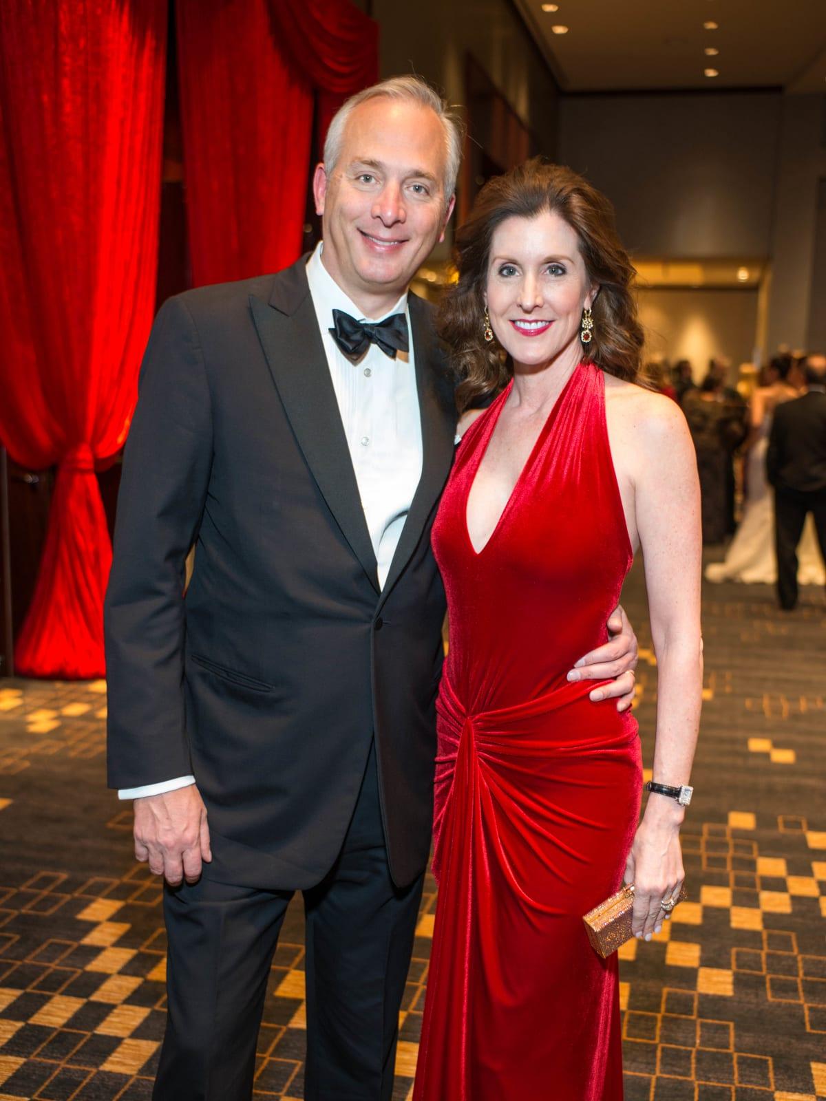 Red Cross Ball, Feb. 2016, Bobby Tudor, Phoebe Tudor