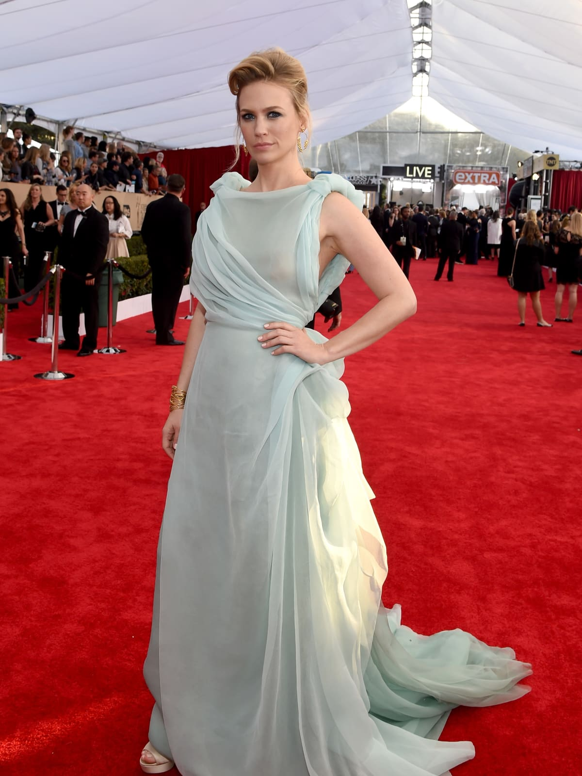 January Jones at Screen Actors Guild Awards