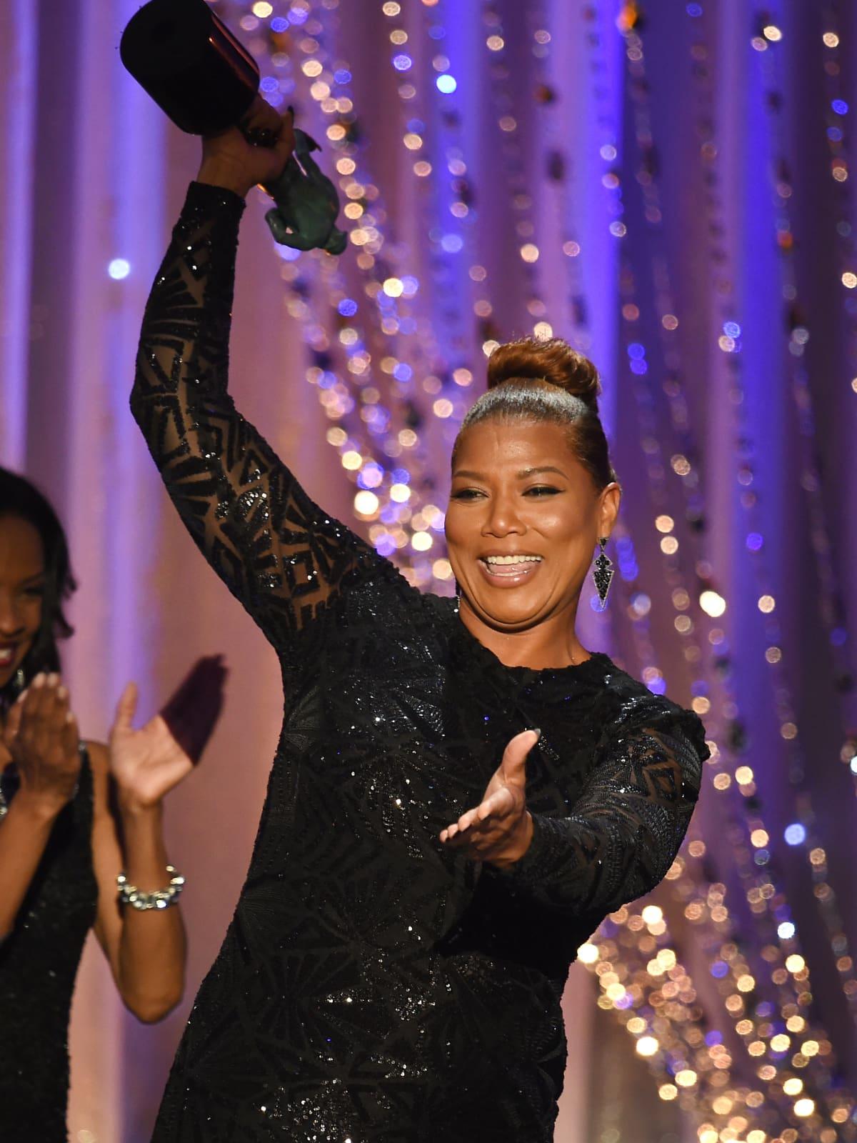 Queen Latifeh at Screen Actors Guild Awards