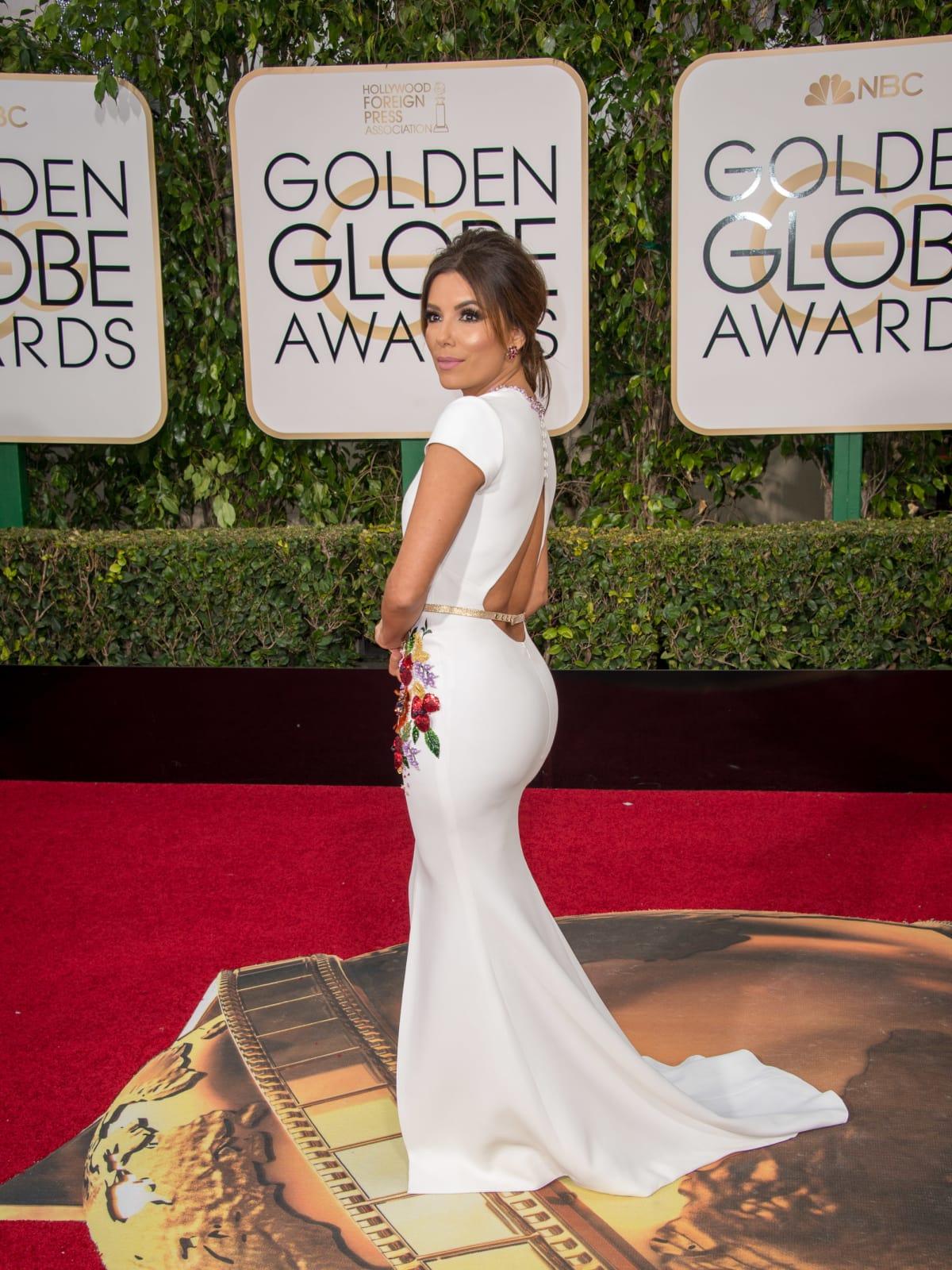 Eva Longoria at Golden Globe Awards