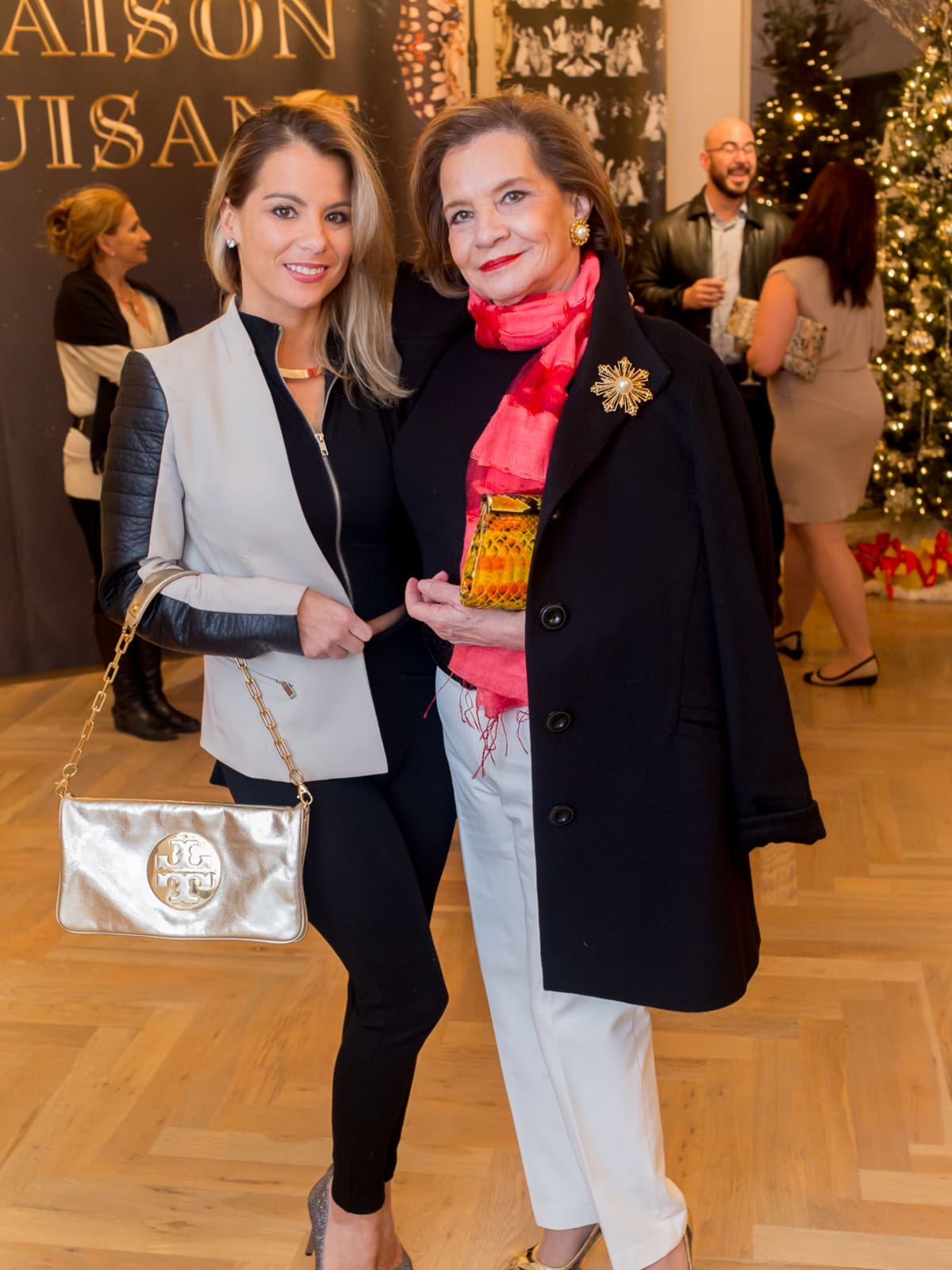 News, Roja Dove event, Dec. 2015, Mandy Bettega, Grace Bettega