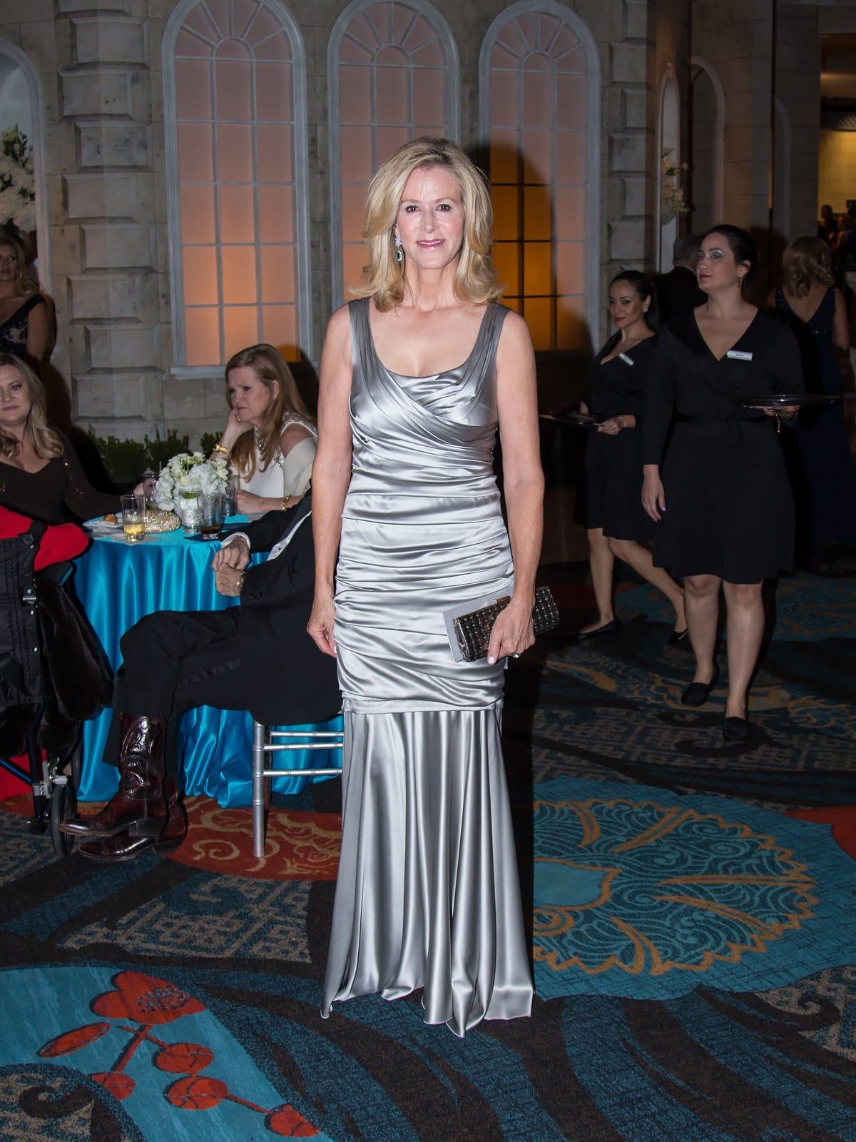 Elizabeth Webb in Dolce & Gabbana