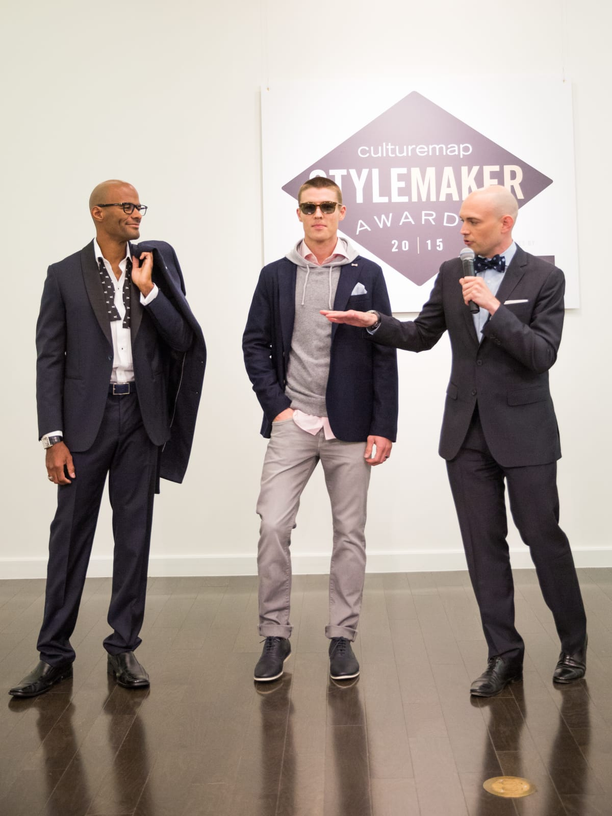 Julian Leaver at the Dallas Stylemaker Awards